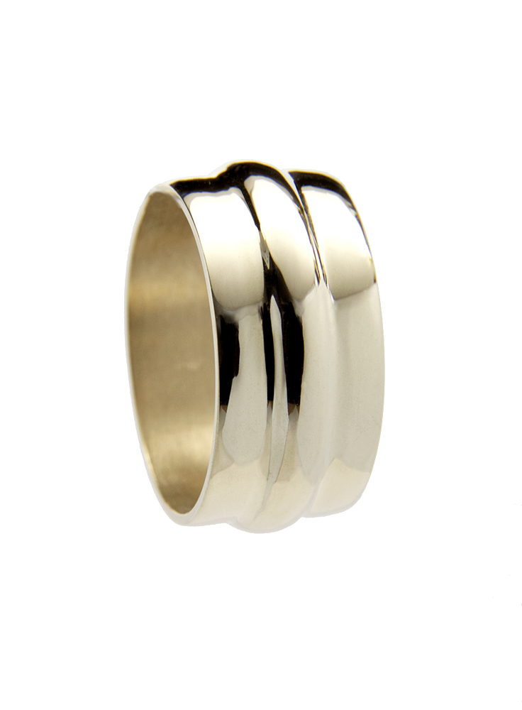 14K Solid Gold Cast RIng