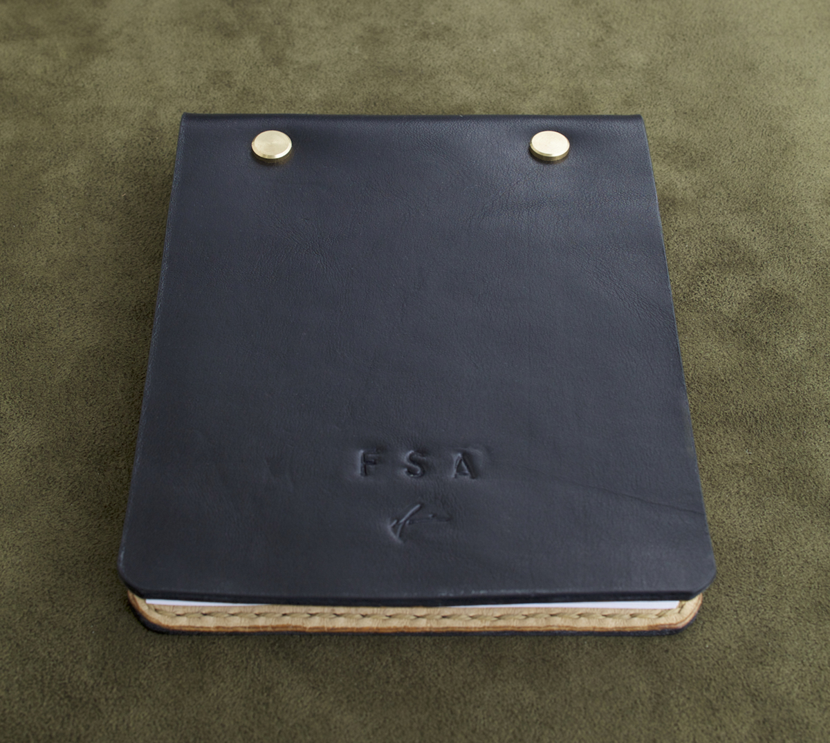 Black Leather Note Book