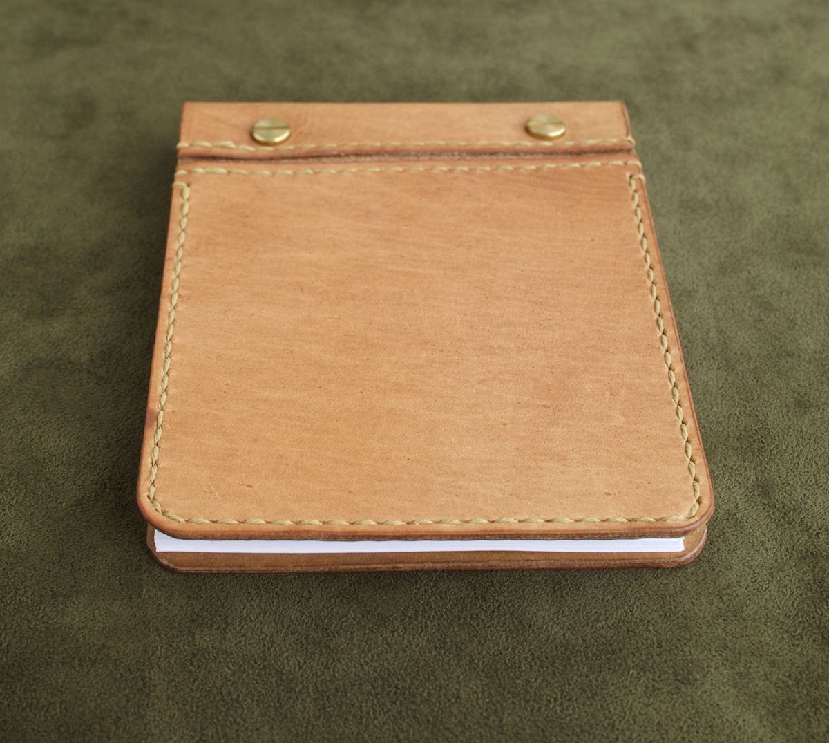 Tan Leather Note Book