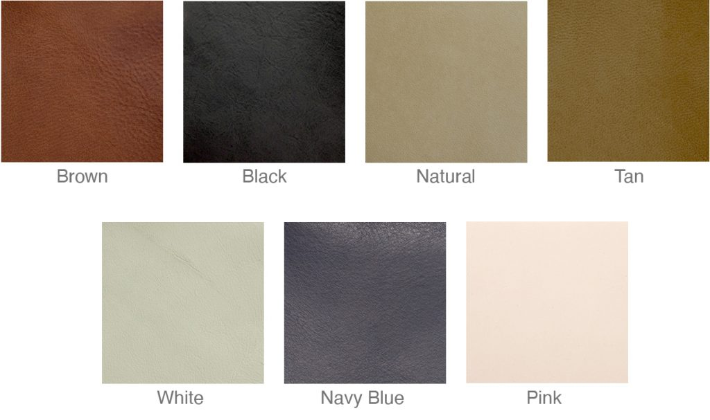 FSA leather swatches 2021